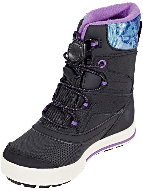 Merrell Snow Bank 2.0 Waterproof Boots Children Black/Print/Berry